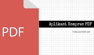 5 aplikasi kompres PDF Gratis