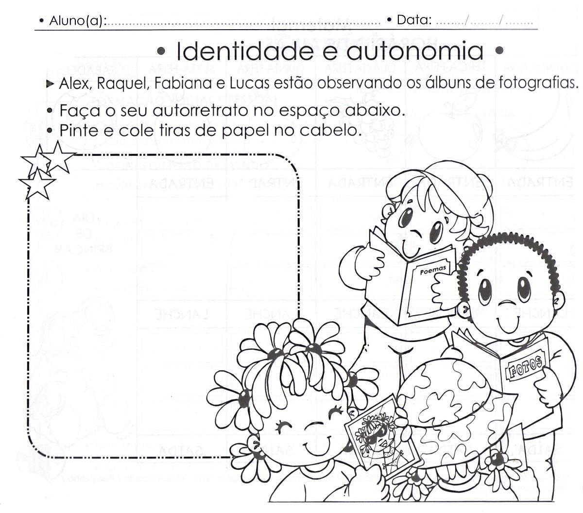 Super Atividades para maternal: Plano de aula com atividade para  IU94