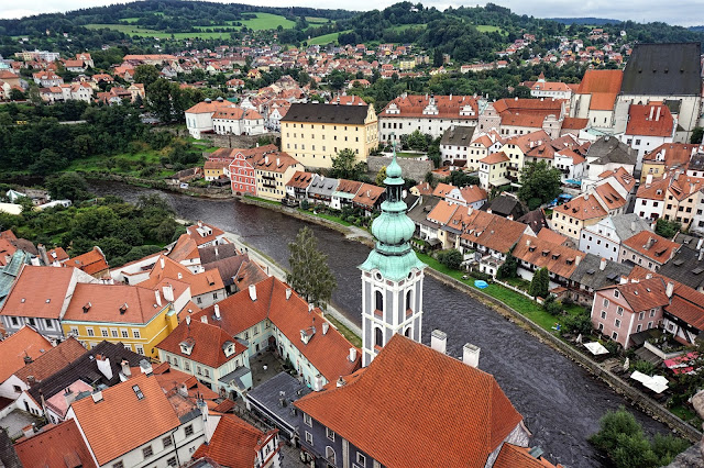 Vistas desde la torre del Castillo