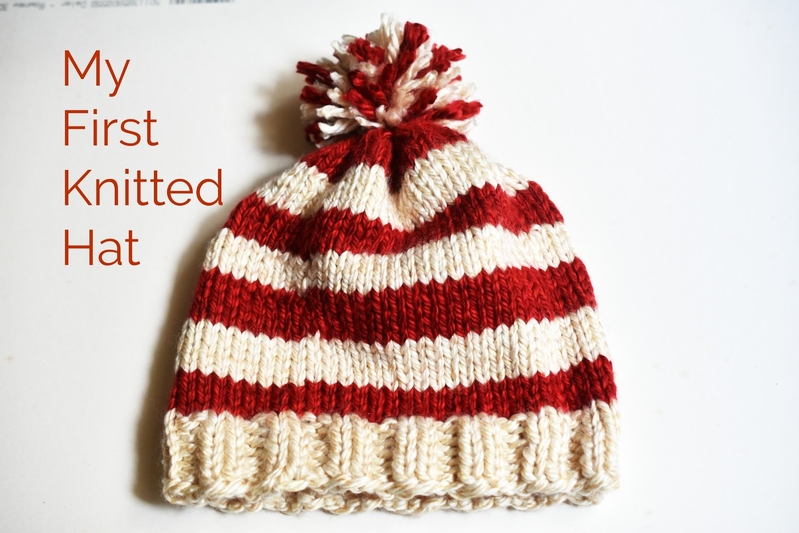 10354f8957c My First Knitted Hat | Projects by Jane