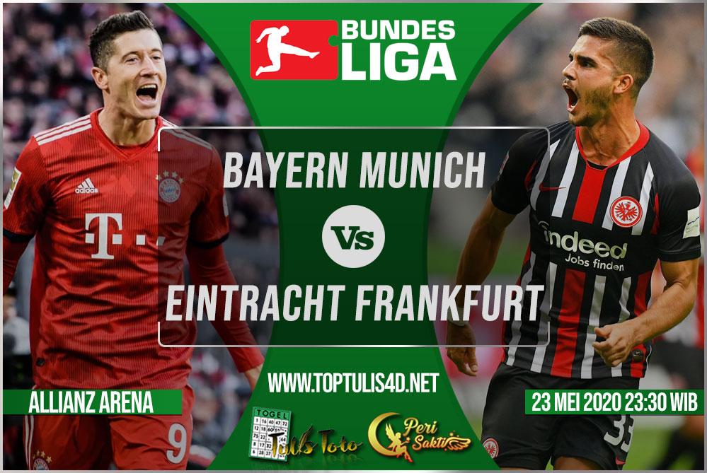 Prediksi Bayern Munich vs Eintracht Frankfurt 23 Mei 2020