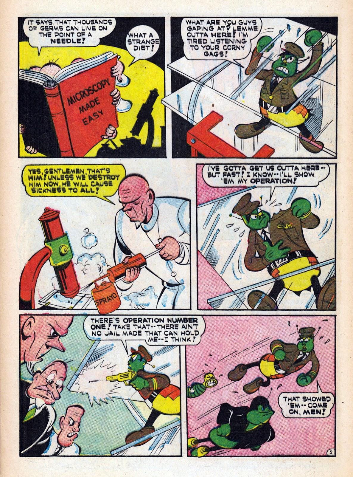 Read online Comedy Comics (1942) comic -  Issue #15 - 46