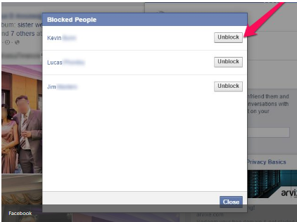 How Do U Unblock Someone on Facebook