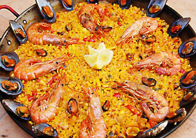 Adelgazar belleza salud defensas gastronom a cocina f cil c mo hacer una paella de - Como cocinar paella ...