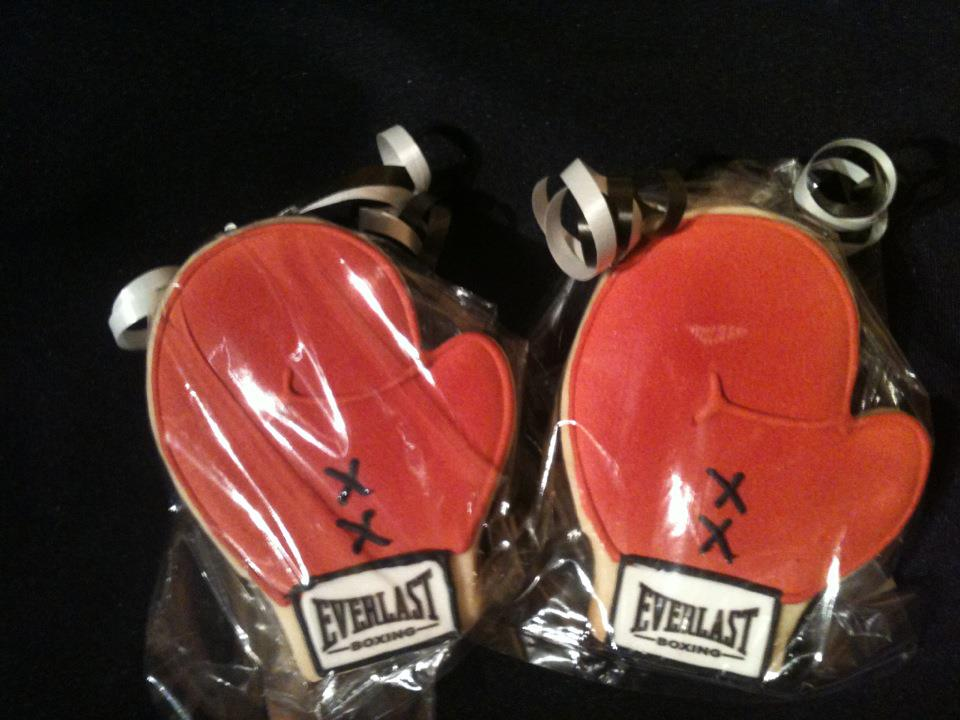 Cookies By Sandra: Boxing Gloves