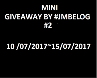 MINI GIVEAWAY BY #JMBELOG #2