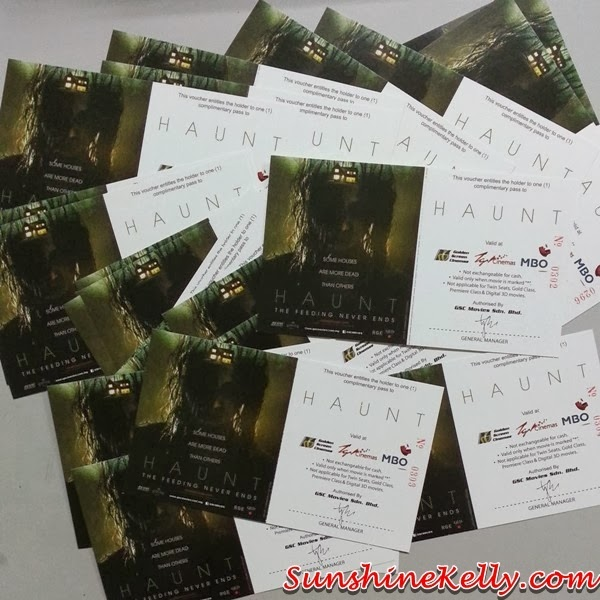 HAUNT Movie, Haunt, Haunt Movie Passes Giveaway, Giveaway, GSC Cinemas, GSC, TGV Cinemas, MBO