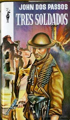 John Dos Passos, Tres soldados, I Guerra Mundial