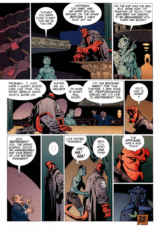Read online Hellboy: Weird Tales comic -  Issue #6 - 10