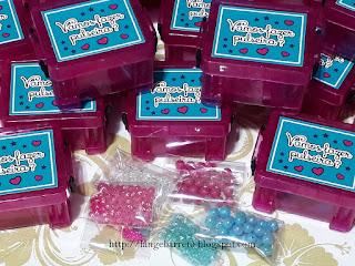 Lembrancinha kit bijuteria