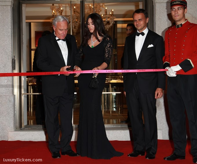 Cartier Grand Re-Opening