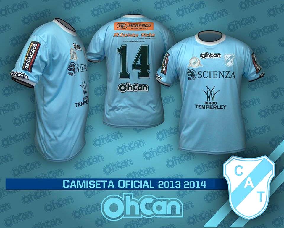 Ohcan apresenta as novas camisas do Temperley - Show de Camisas f64ca30a52080