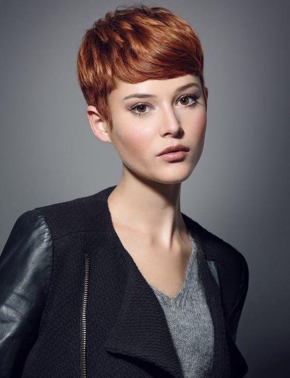 La moda en tu cabello Sencillos cortes de pelo corto para