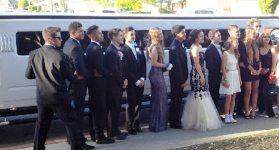 white hummer prom night