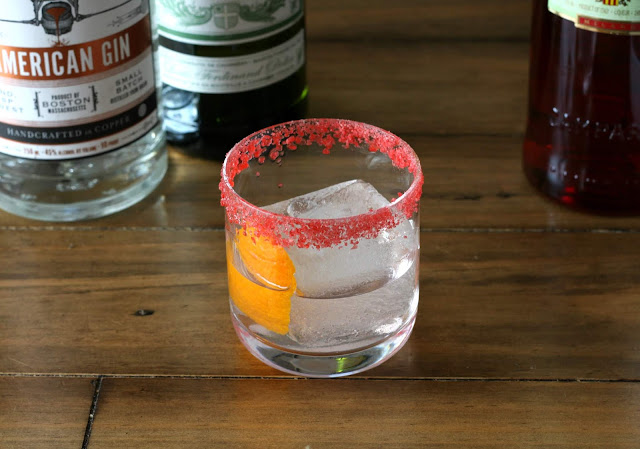 Deconstructed Negroni