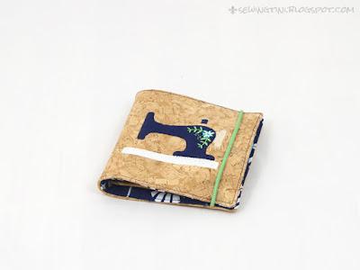 Nadelbuch aus Kork