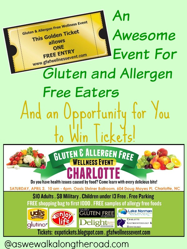 Gluten and allergen free event