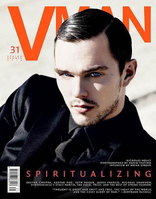 nicholas hoult, celebrities, moda masculina, iconos de estilo, perfil de estilo, portada, vman