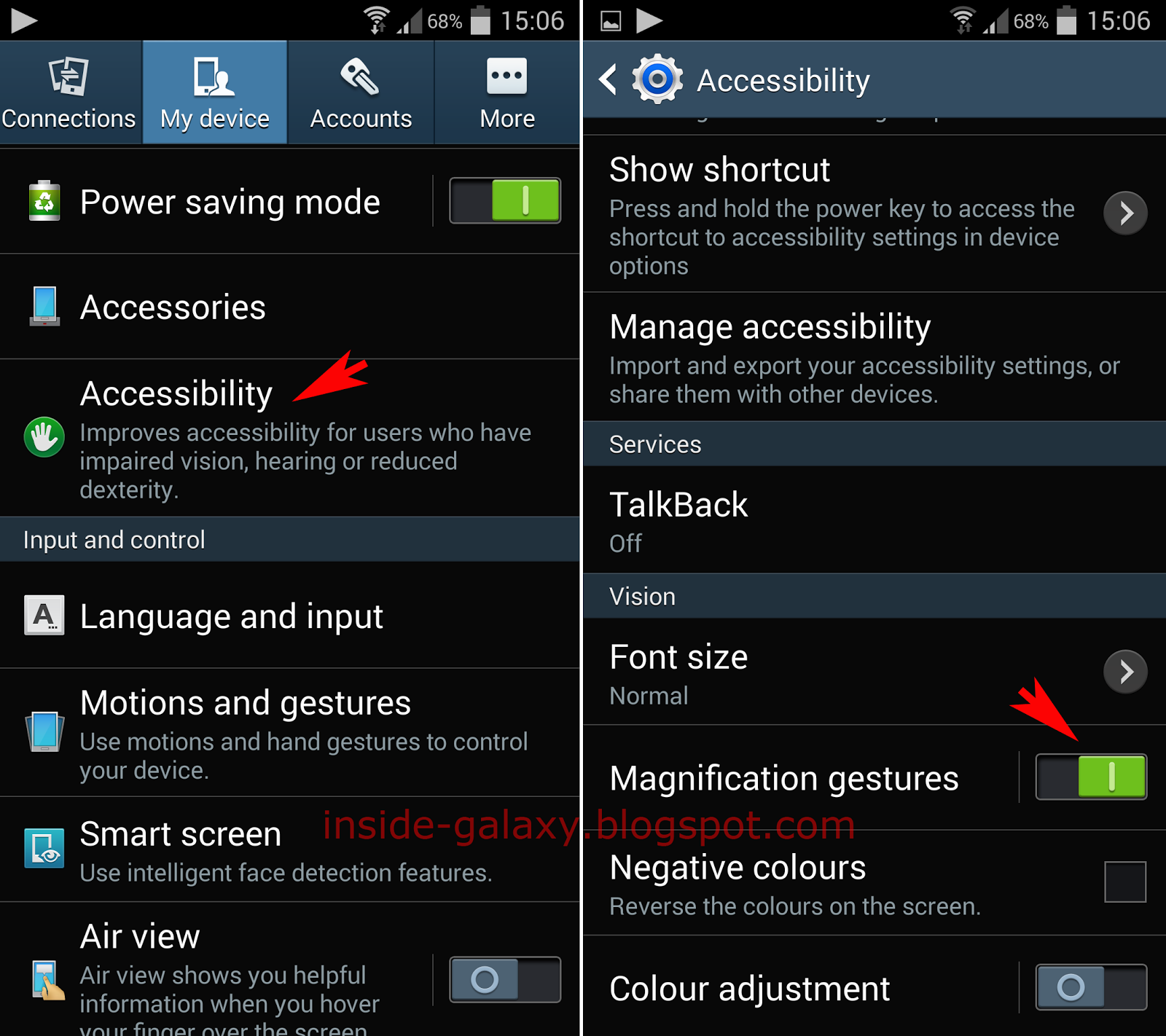 Inside Galaxy: Samsung Galaxy S4: How to Enable and Use