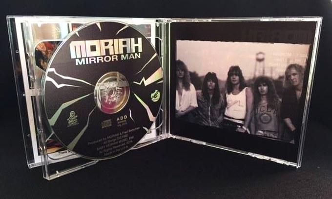 MORIAH - Moriah EP + Mirror Man [2-CD digitally remastered reissue] (2016) discs