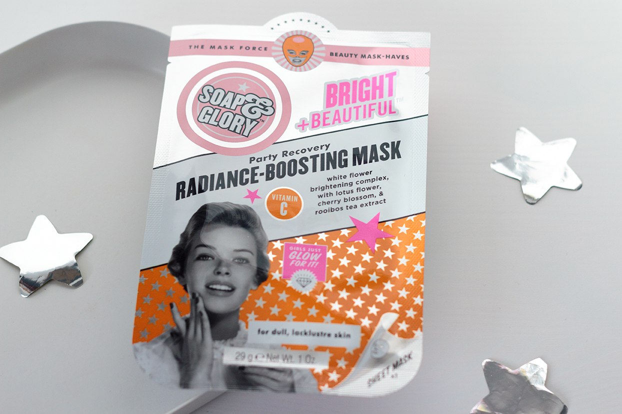 Soap and Glory sheet mask