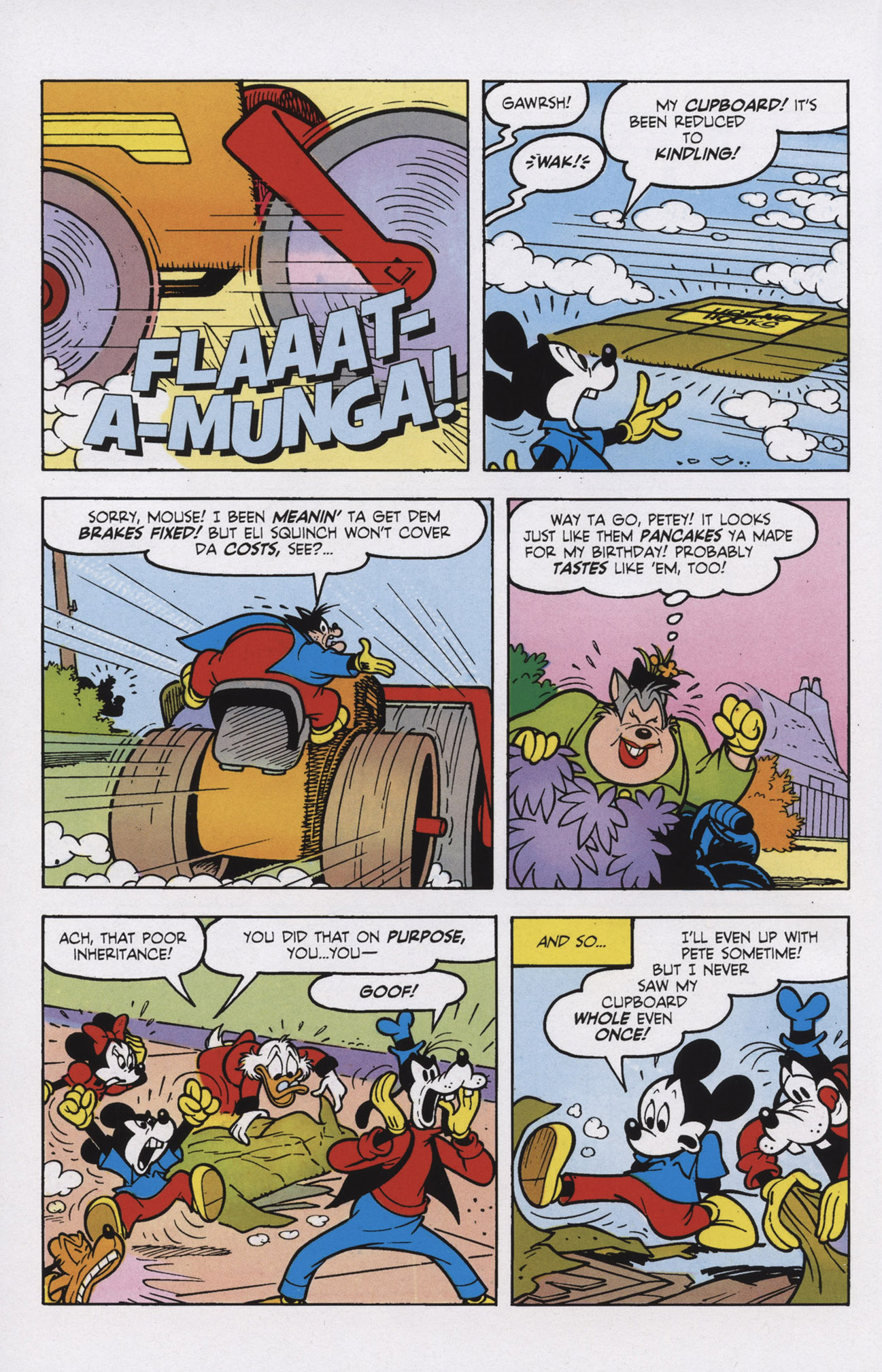 Read online Mickey Mouse (2011) comic -  Issue #309 - 10