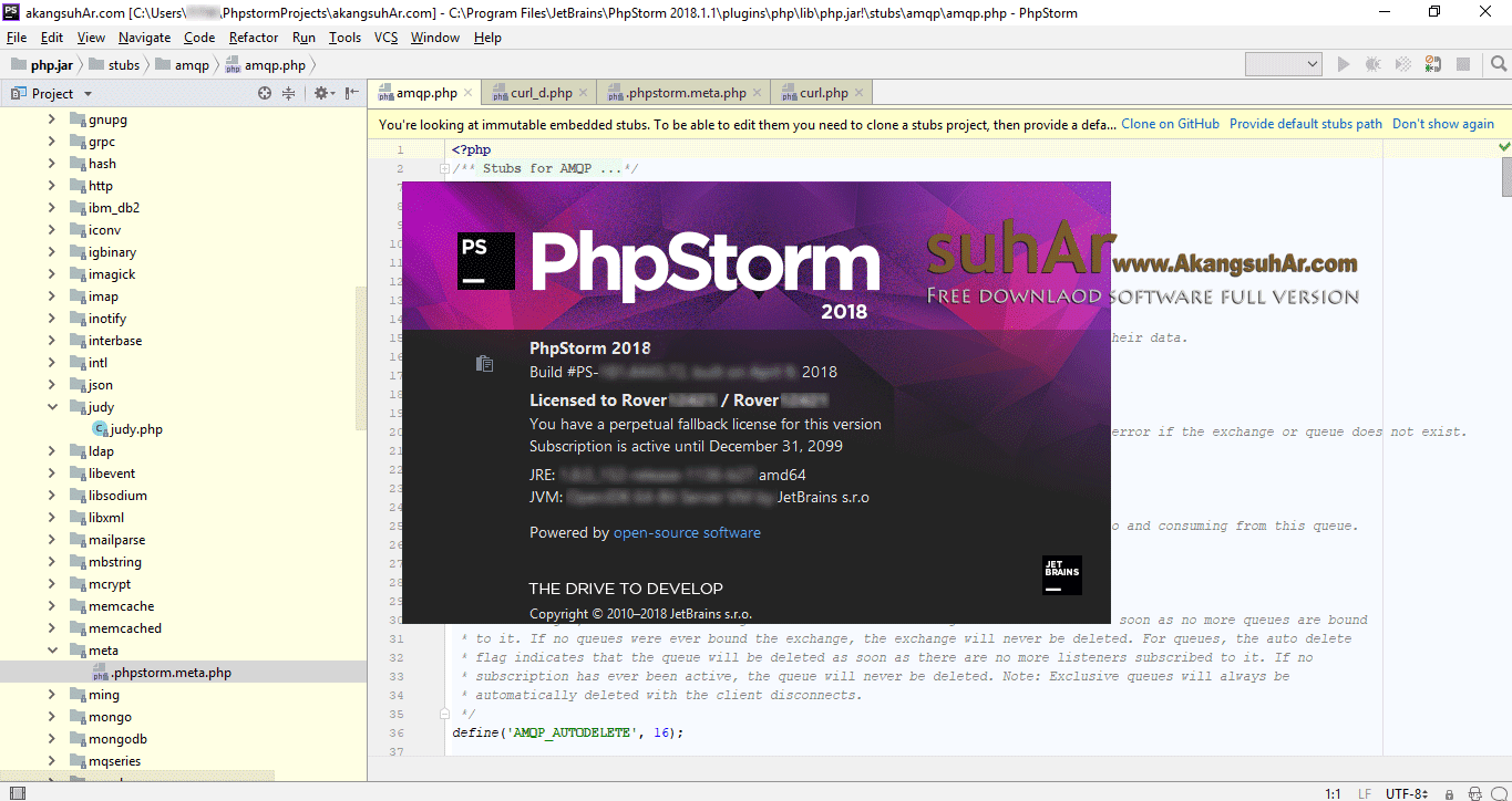 Free Download JetBrains PhpStorm Activation Key, JetBrains PhpStorm Commercial License, JetBrains PhpStorm 2018 Registration Code