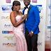 Funke Akindele and hubby JJC gorgeous at the premiere of Jenifa in London