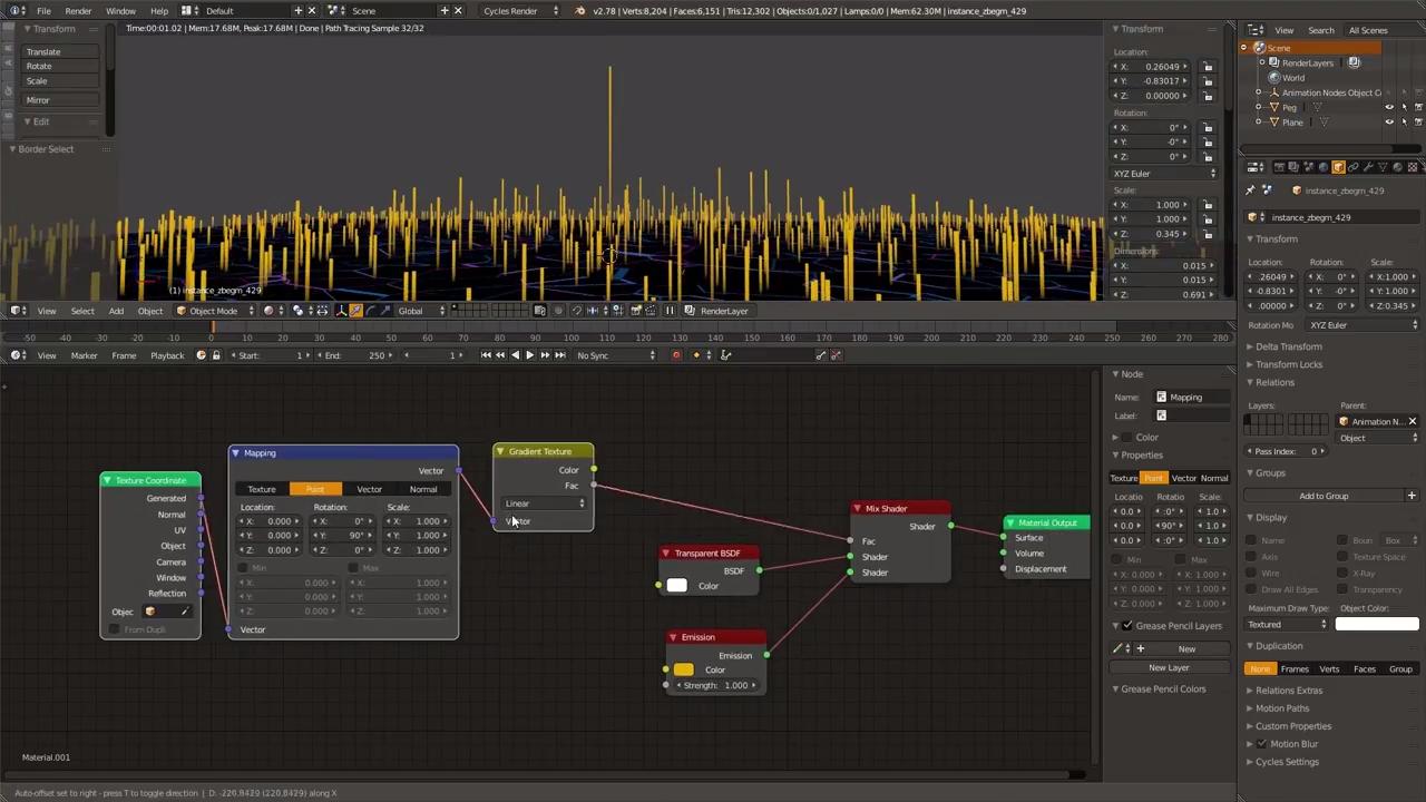 Visualizing Sound in Blender | CG TUTORIAL