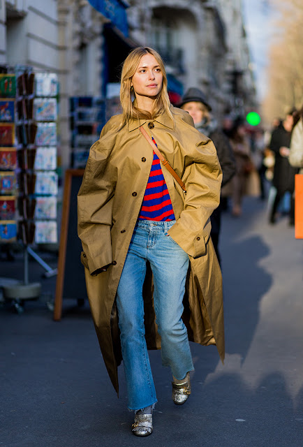 pernille, cropped denim, stripes, fall 2016, street style, spring 2016, trends, fashion week, NYFW, PFW, LFW, new york fashion week, paris fashion week, london fashion week