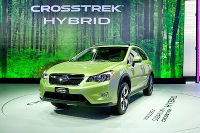 Auto ibrida Subaru XV prossimamente disponibile con boxer