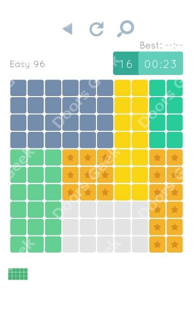 Cheats, Walkthrough for Blocks and Shapes Level 96