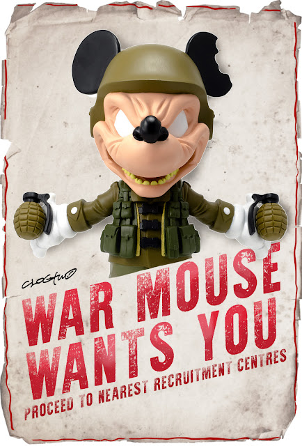 War Mouse Vinyl Figure by Clogtwo x Mighty Jaxx