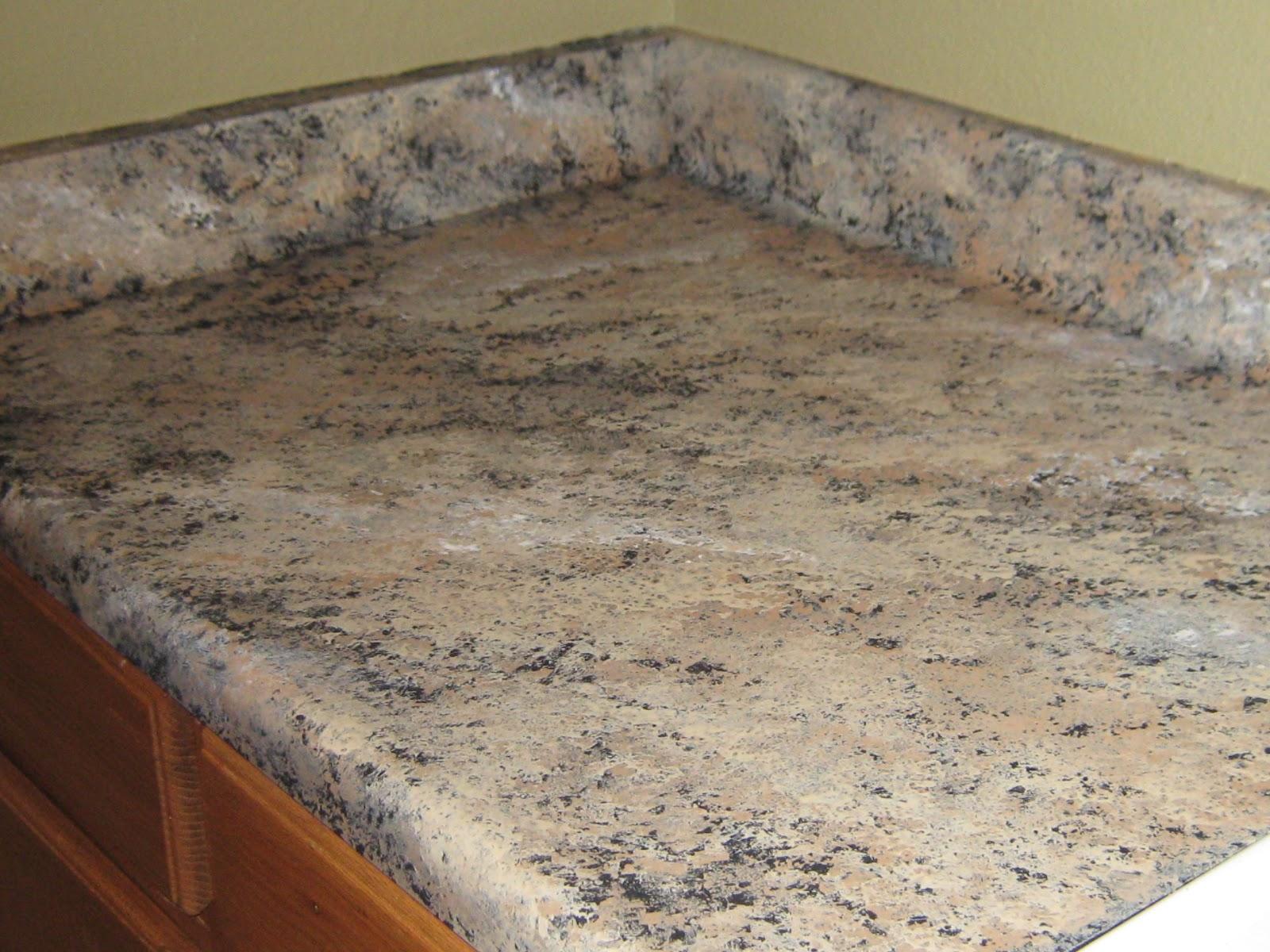 Slab granite countertops: Formica that looks like marble