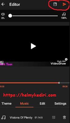 Cara memotong dan menggabungkan video pada smartphone