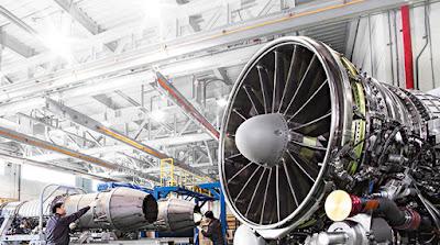 các linh kiện động cơ máy bay