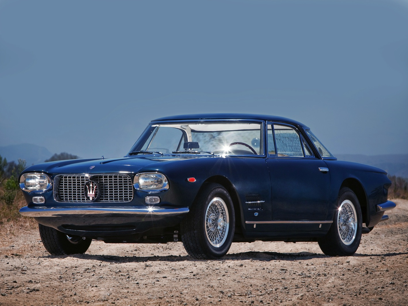 FAB WHEELS DIGEST (F.W.D.): Maserati 5000GT 'Indianapolis' Allemano (1961-64)