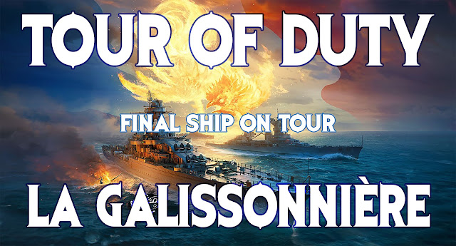 World of Warships NA - Tour of Duty Tier VI La Galissonnière - Ship Raffle, Win a Tirpitz, Scharnhorst, Błyskawica, Gallant
