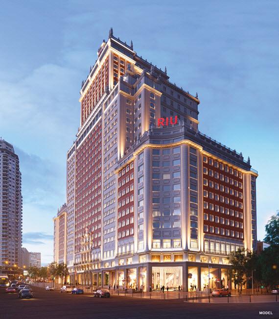 El Hotel Riu Plaza De España Abre En Verano De 2019 Con