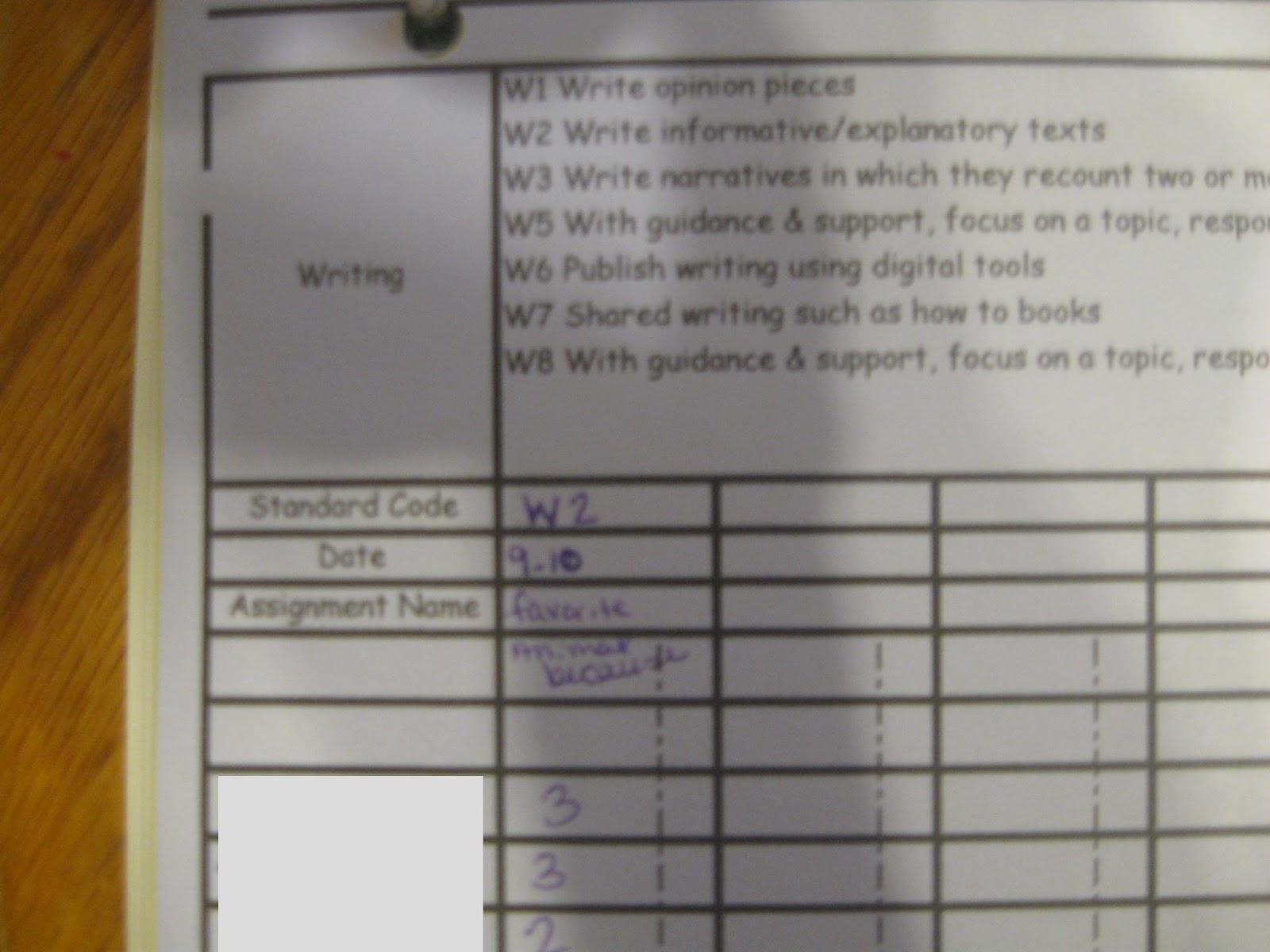 My First Grade Spot Common Core Grade Book