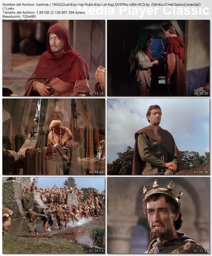 Ivanhoe (1952) [Cine clásico]