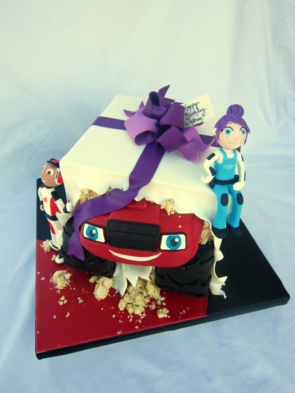 Delectable Cakes Quot Blaze And The Monster Machines Quot Girl