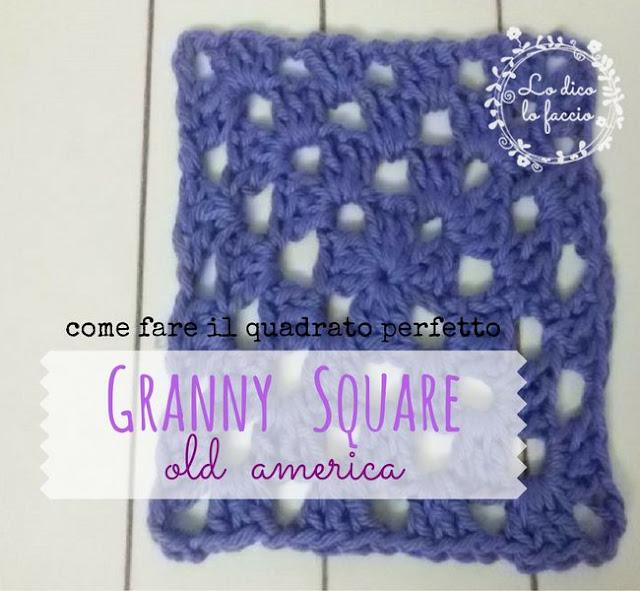 Come fare la Granny Square, il quadrato perfetto [tutorial]