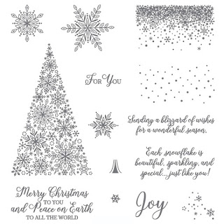 Snow is Glistening from Stampin' Up!