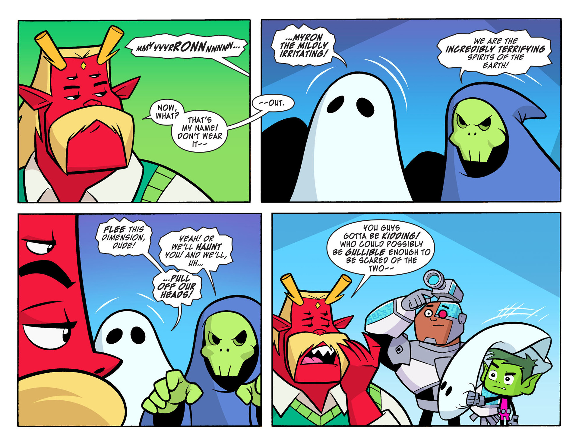 Read online Scooby-Doo! Team-Up comic -  Issue #8 - 15