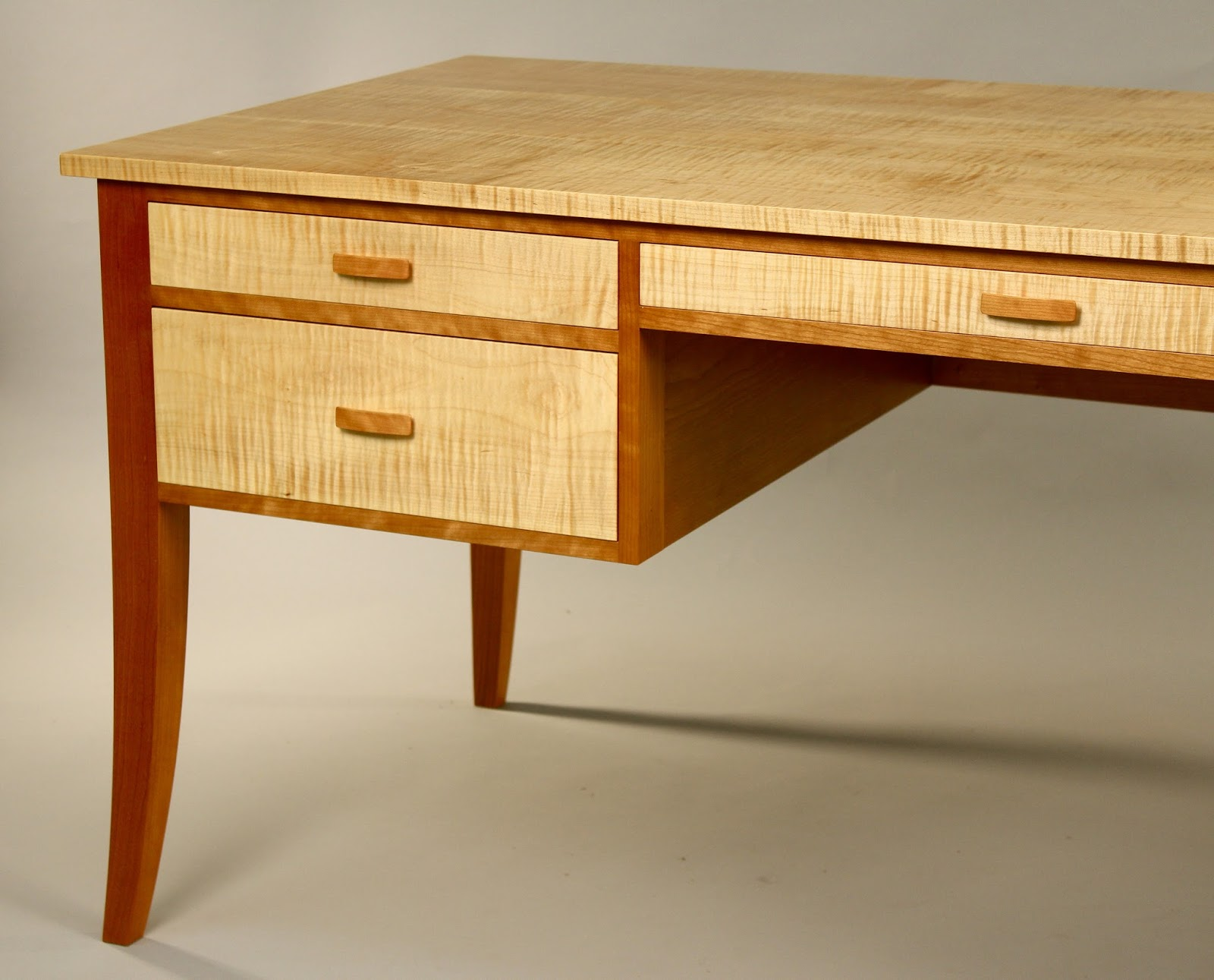 Handmade writing desk custom made to order