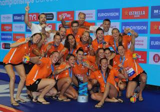 WATERPOLO - Campeonato de Europa femenino 2018 (Barcelona, España): Holanda pentacampeona de Europa 25 años después y primer bronce de la historia para España