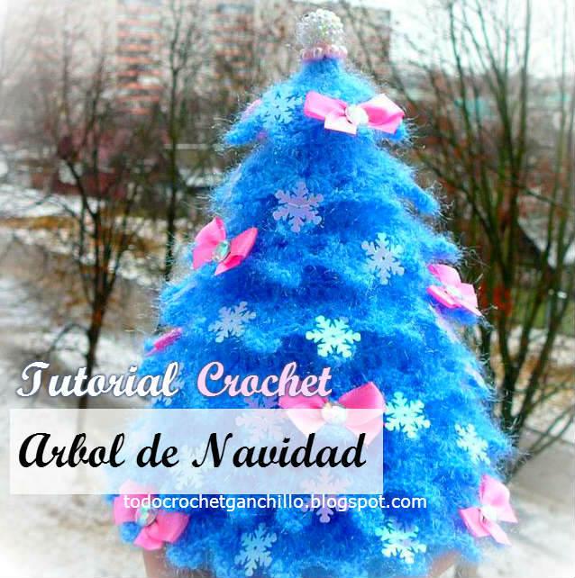 10 Arboles de Navidad en Crochet | 642x638
