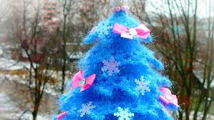 Cómo Hacer Un Árbol de Navidad Paso a Paso / Tutorial Crochet