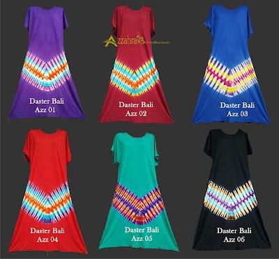 gambar baju daster bali pelangi murah warna lengkap